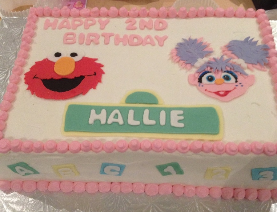 Sesame Street Birthday Cake on Cake Central
