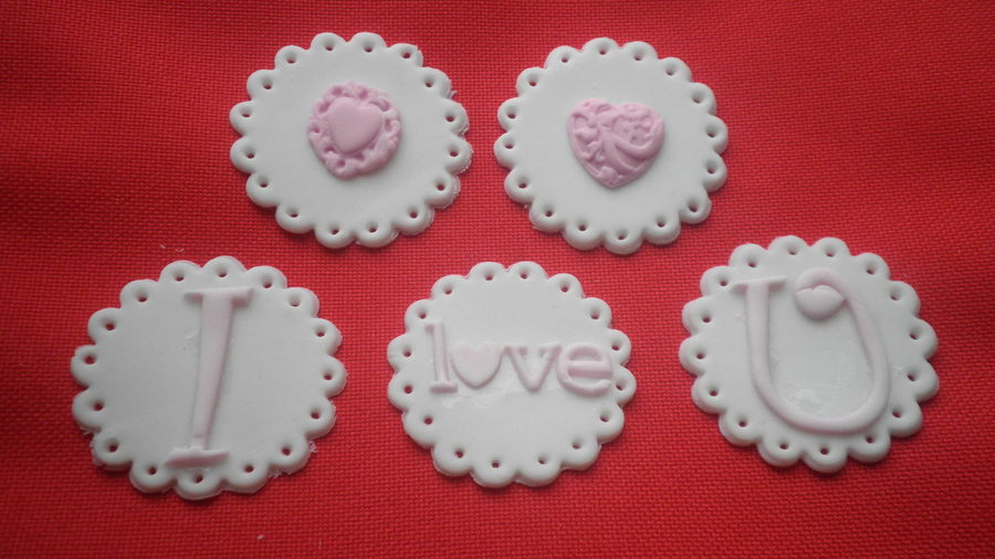Valentines Toppers on Cake Central