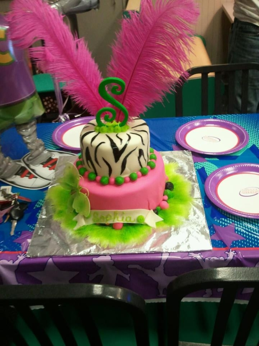 Little Diva Birthday Cake on Cake Central