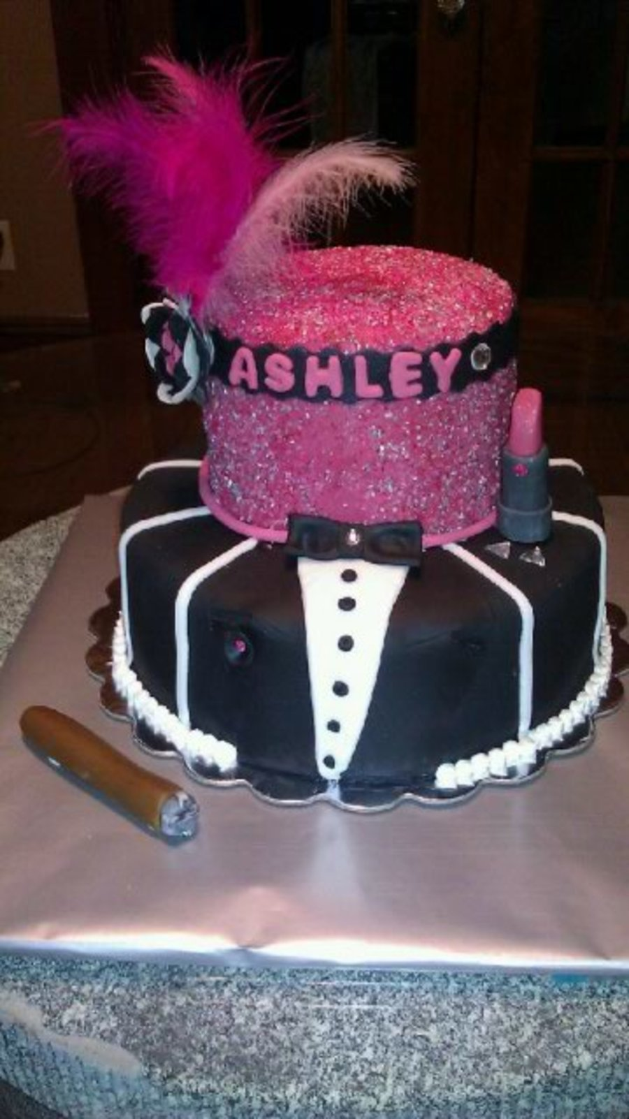 Harlem Nights Themed Cake Cakecentral Com