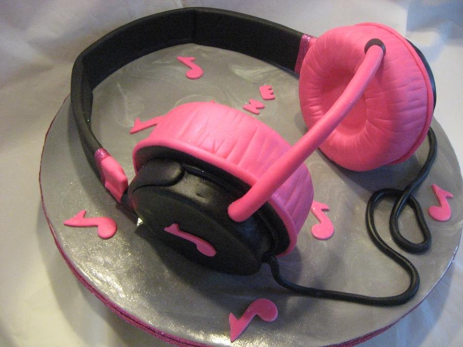 Headphones Birthday Cake Cakecentral Com