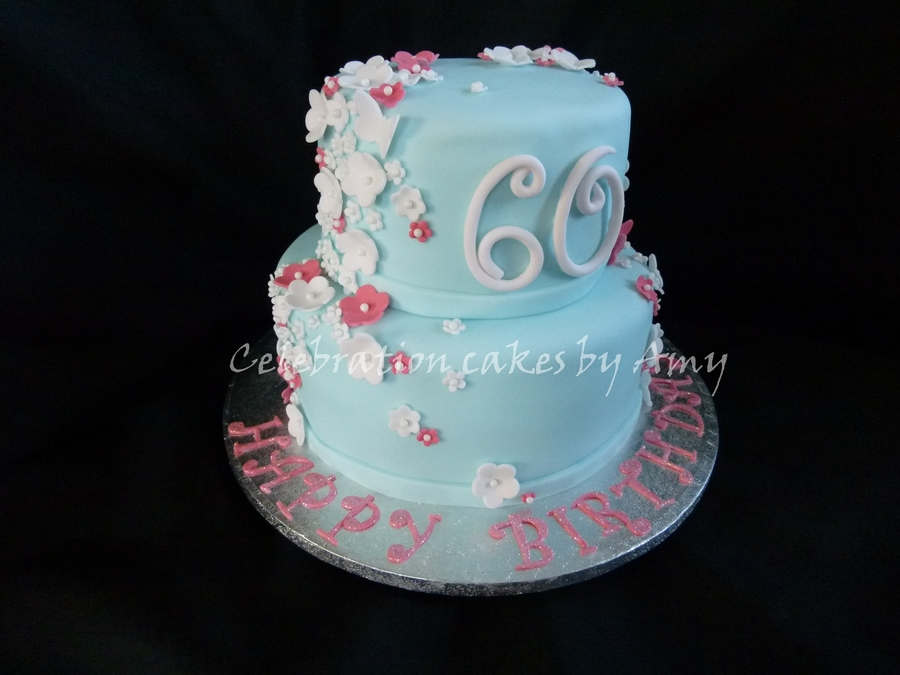 Ladies 60Th Birthday Cake On Central