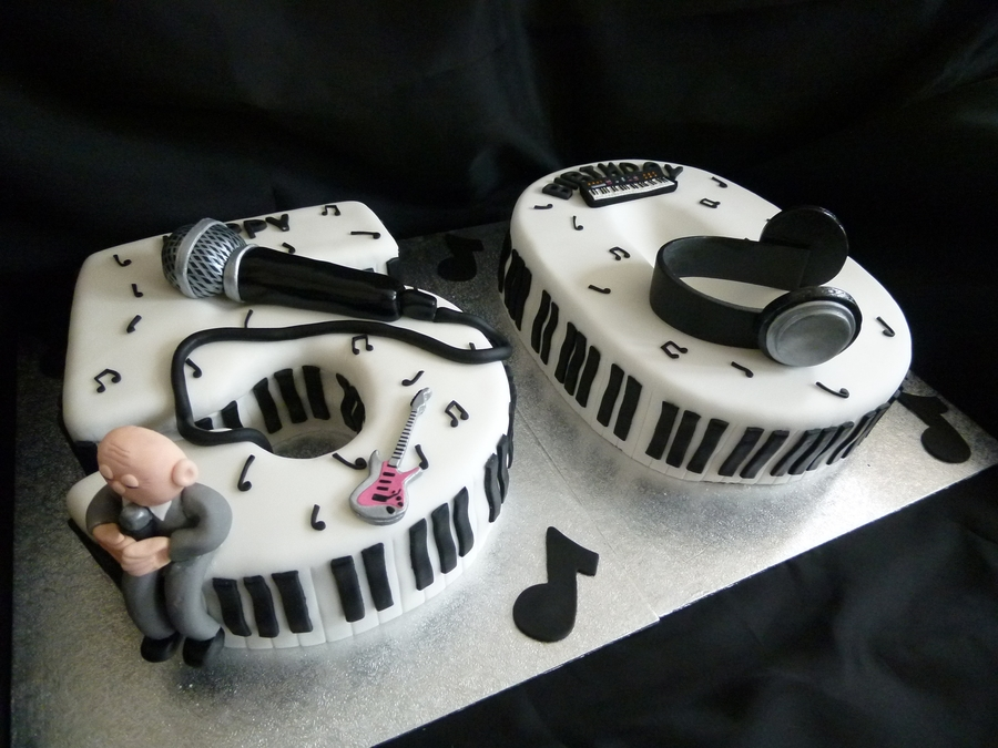 Music Lovers 50th Birthday Cake Cakecentral Com