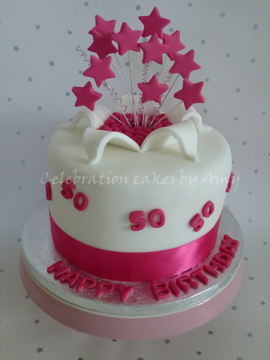 Ladies 50Th on Cake Central