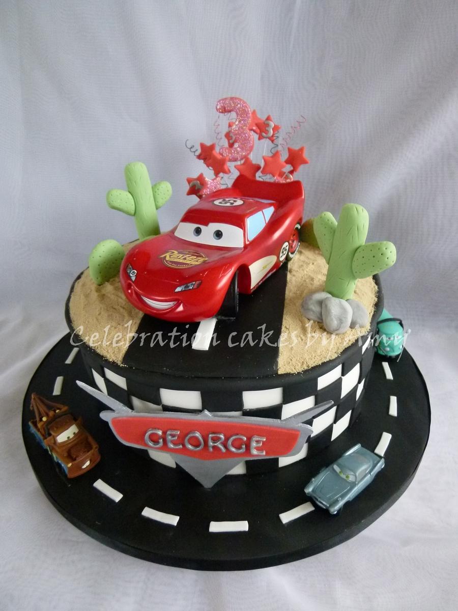 Disney Cars Cake Cakecentral Com