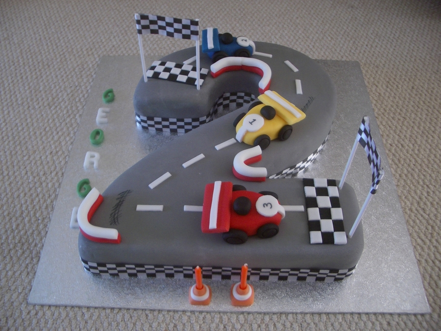 Boys 2nd Birthday Cake Cakecentral