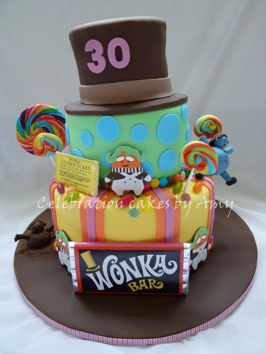 Willy Wonka And The Chocolate Factory Cake Ideas