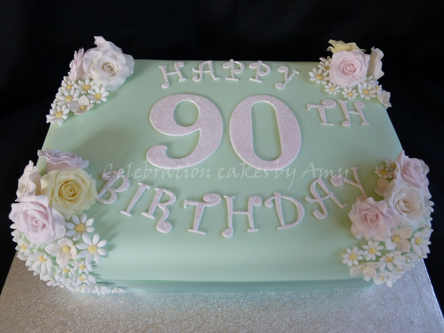 Ideas For A Ladies Th Birthday Cake