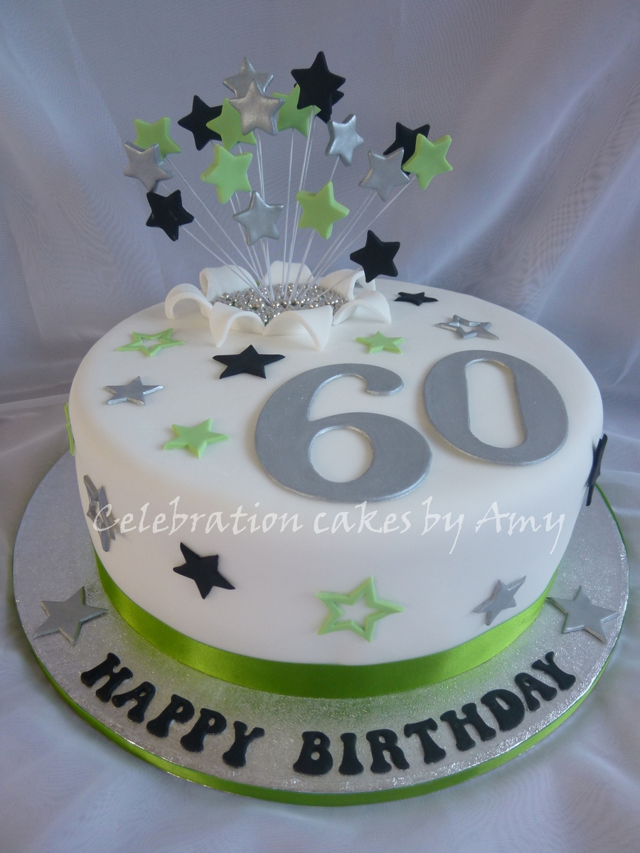 Males 60Th Birthday Cake On Central