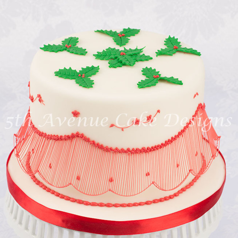 Holiday Cakes With Australian Bridgeless Extensions on Cake Central