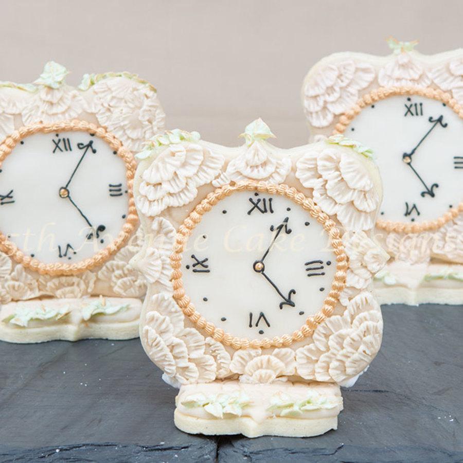 Vintage Wedding Favor Sugar Cookies - CakeCentral.com