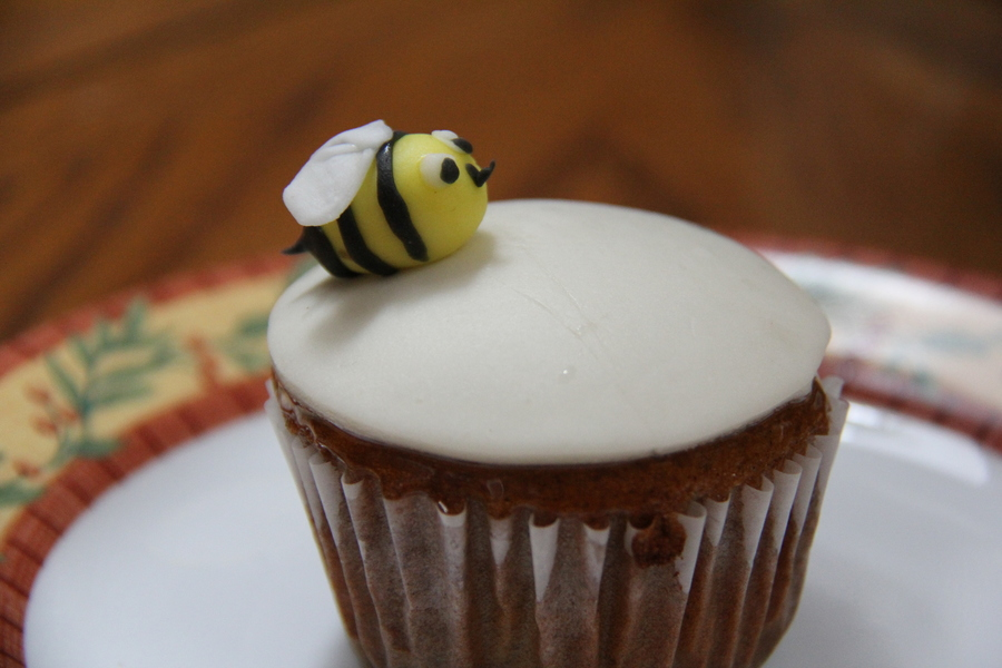 Bee Honey Cupcake on Cake Central
