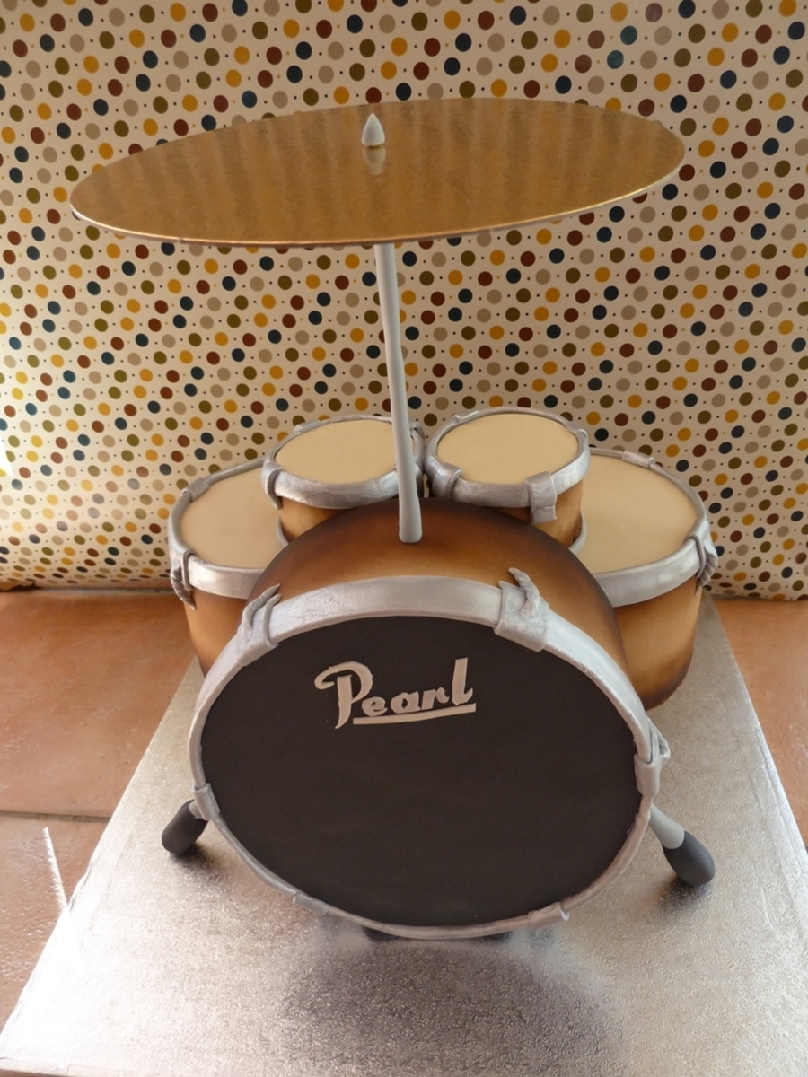 Drum Cake on Cake Central