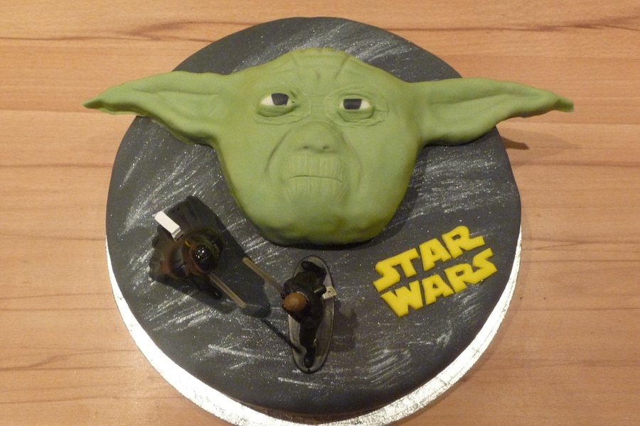 Star Wars Yoda Cake on Cake Central