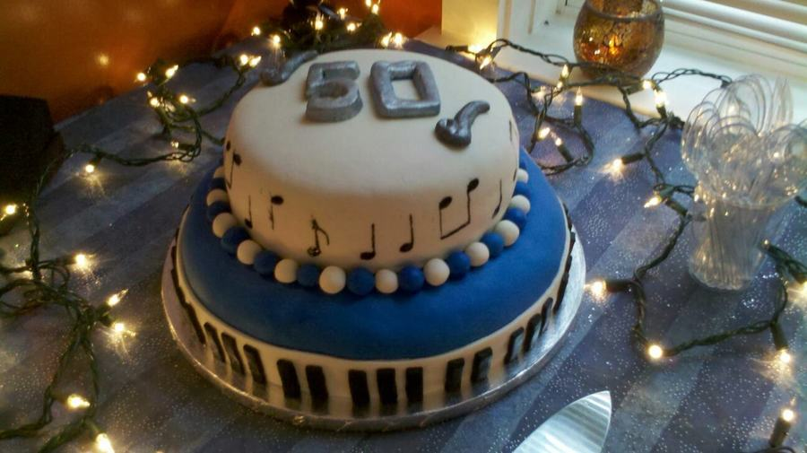 Jazzy 50Th Birthday Cake on Cake Central