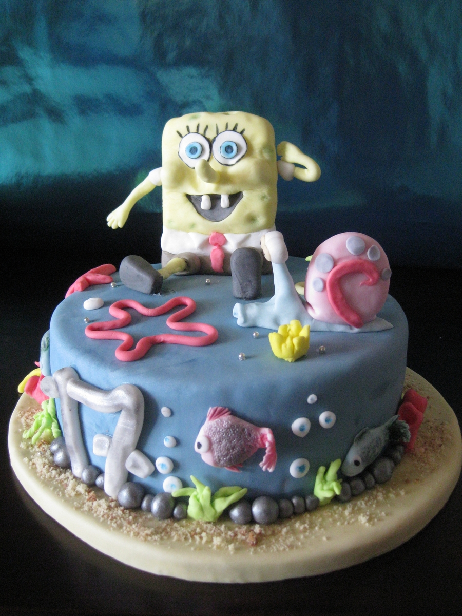 Spongebob & Friends on Cake Central