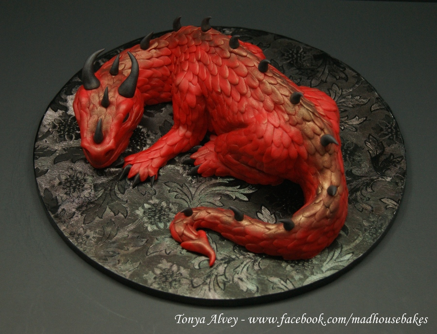 My Dragon Cake Topper Male Cakecentral Com