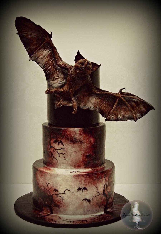 Bat Creature Cake Cakecentral Com