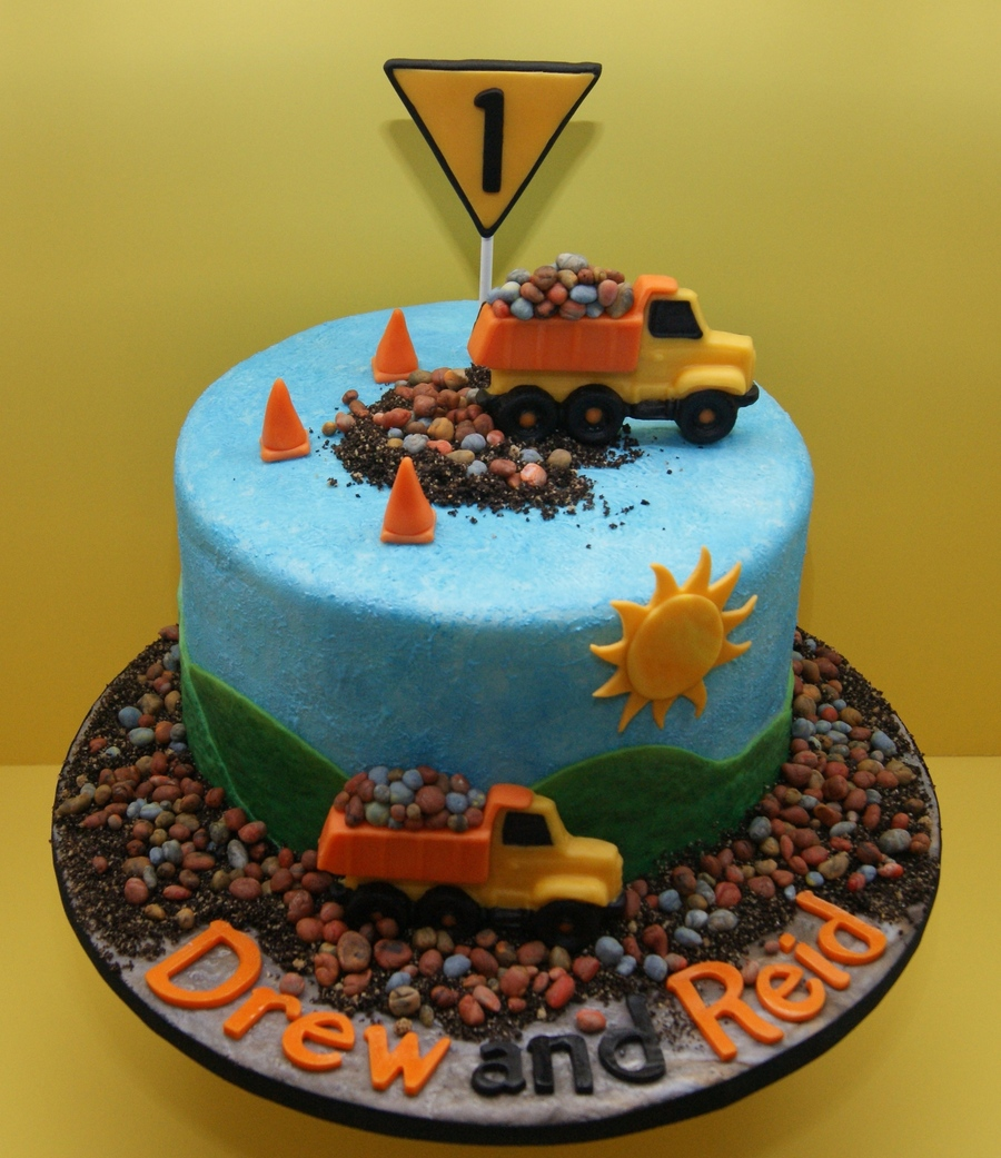 My Dumptruck Birthday Cake Cakecentral
