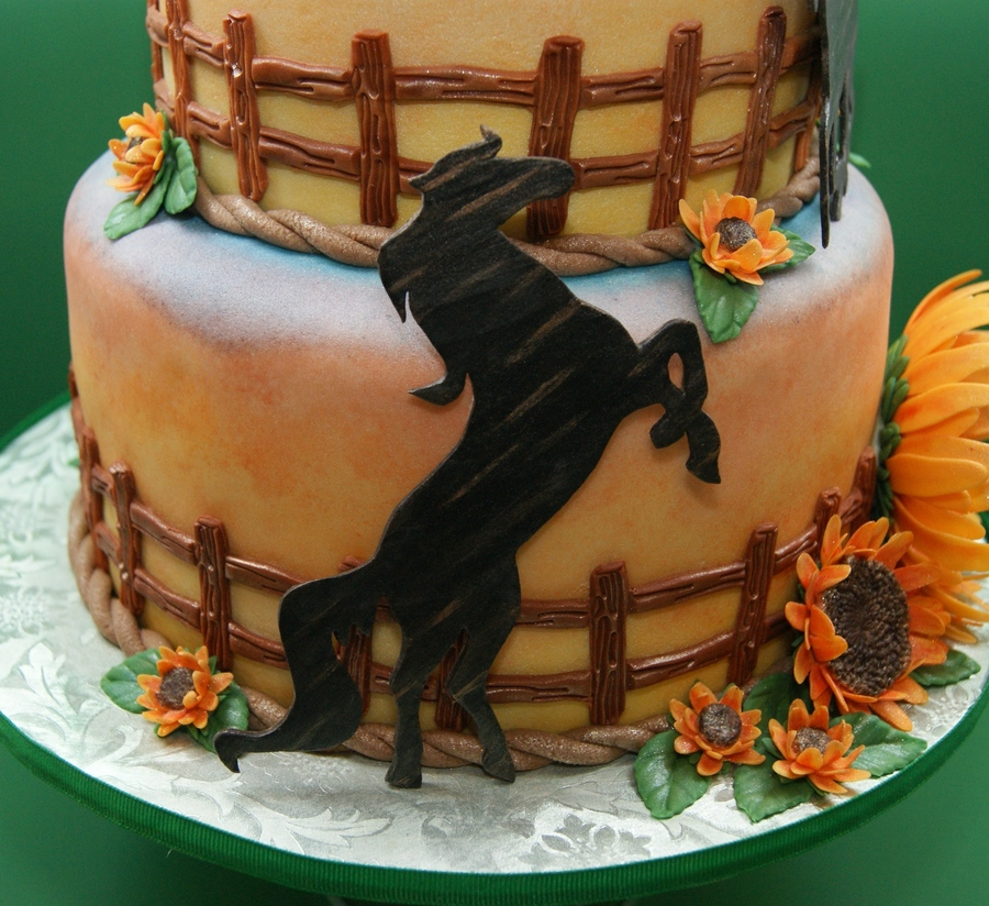 Images Of Birthday Cakes With Horses