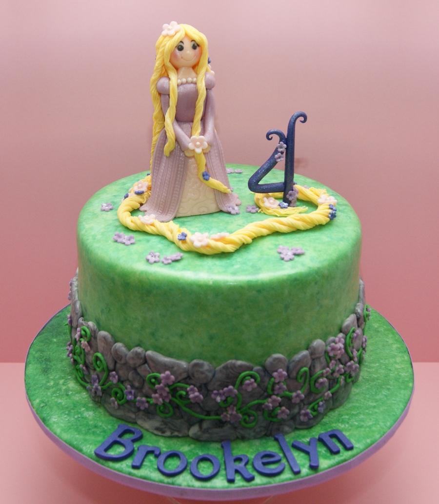My Rapunzel Cake - CakeCentral.com