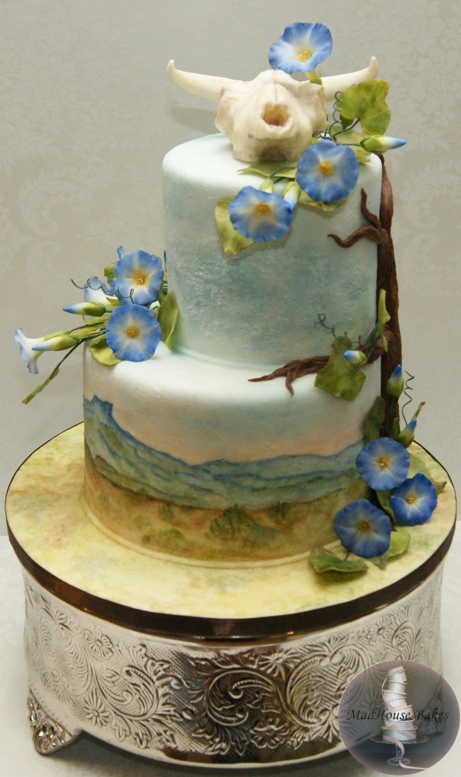 my wedding cake my wedding cake inspired by o keeffe cakecentral 17682