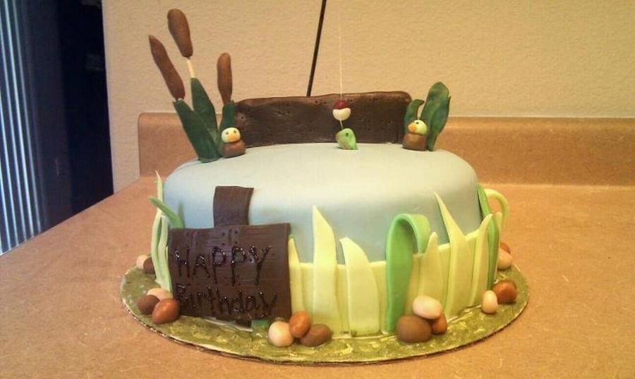 Fishing Theme on Cake Central
