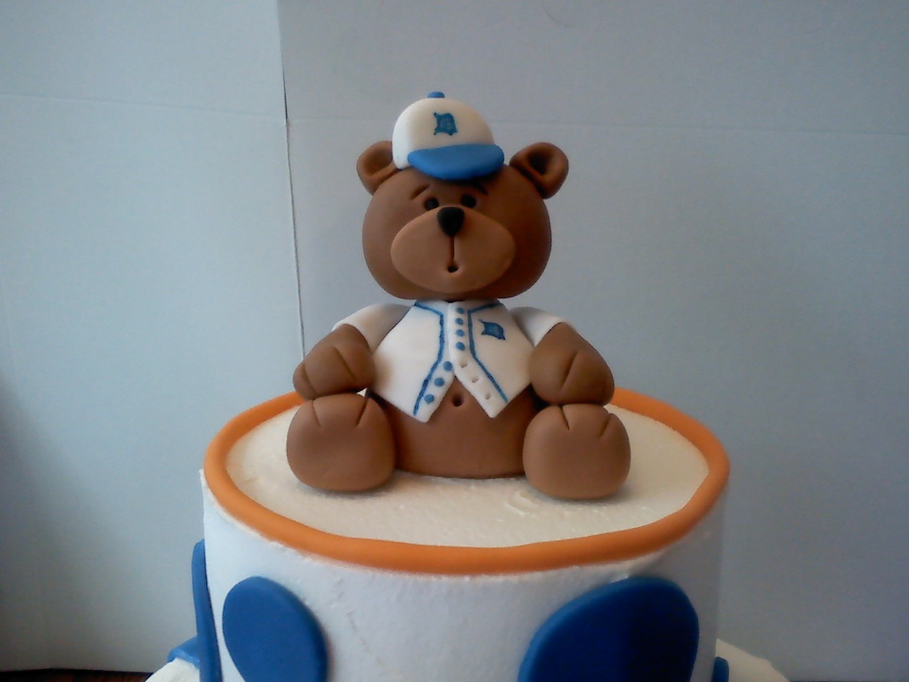 Baby Shower Cakes Detroit ~ Detroit tigers baby shower cake cakecentral