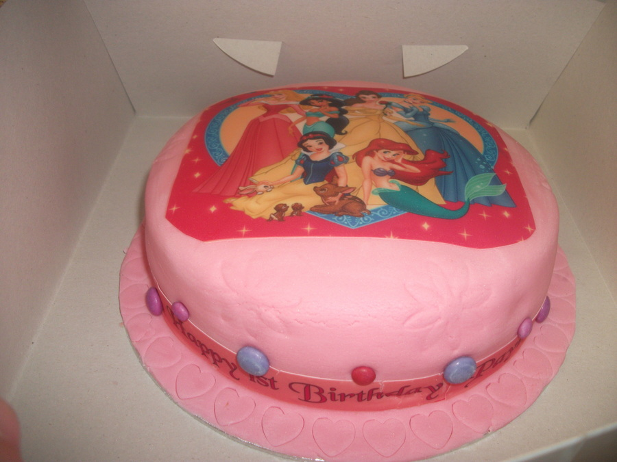 Princess Photo Cake on Cake Central