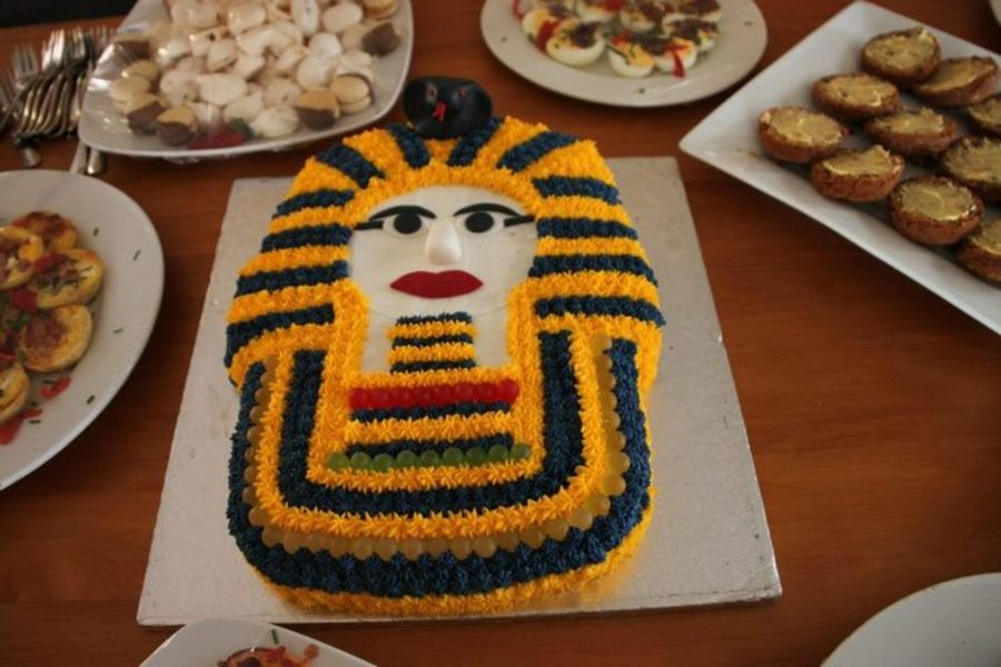 Egyptian Theme Party on Cake Central