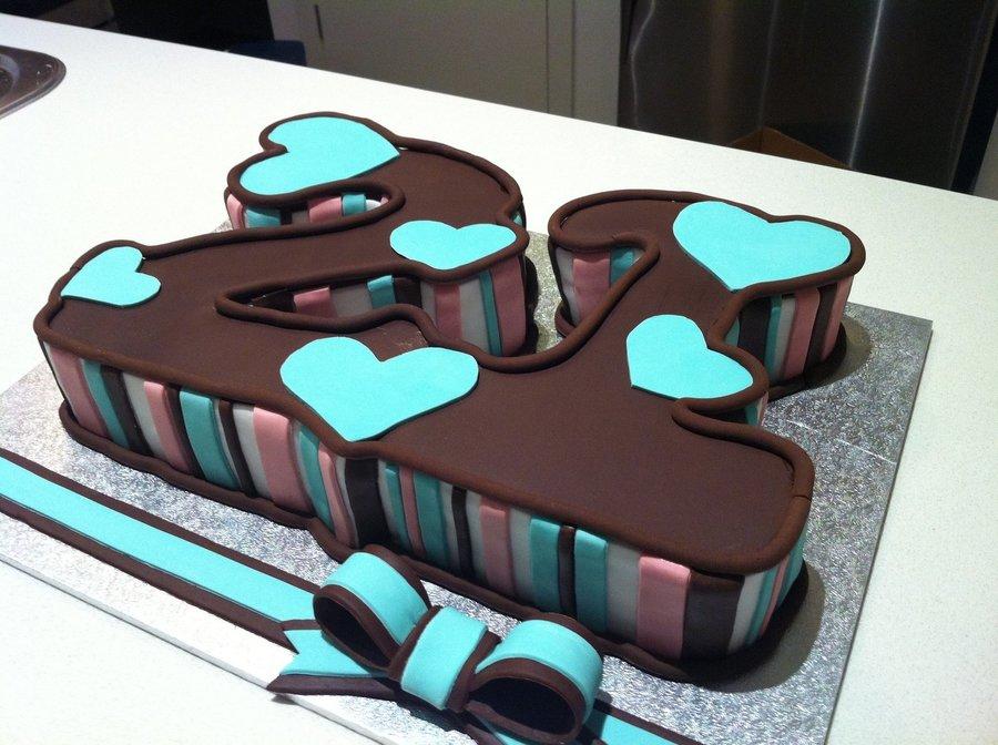 21st Cake Cakecentral Com