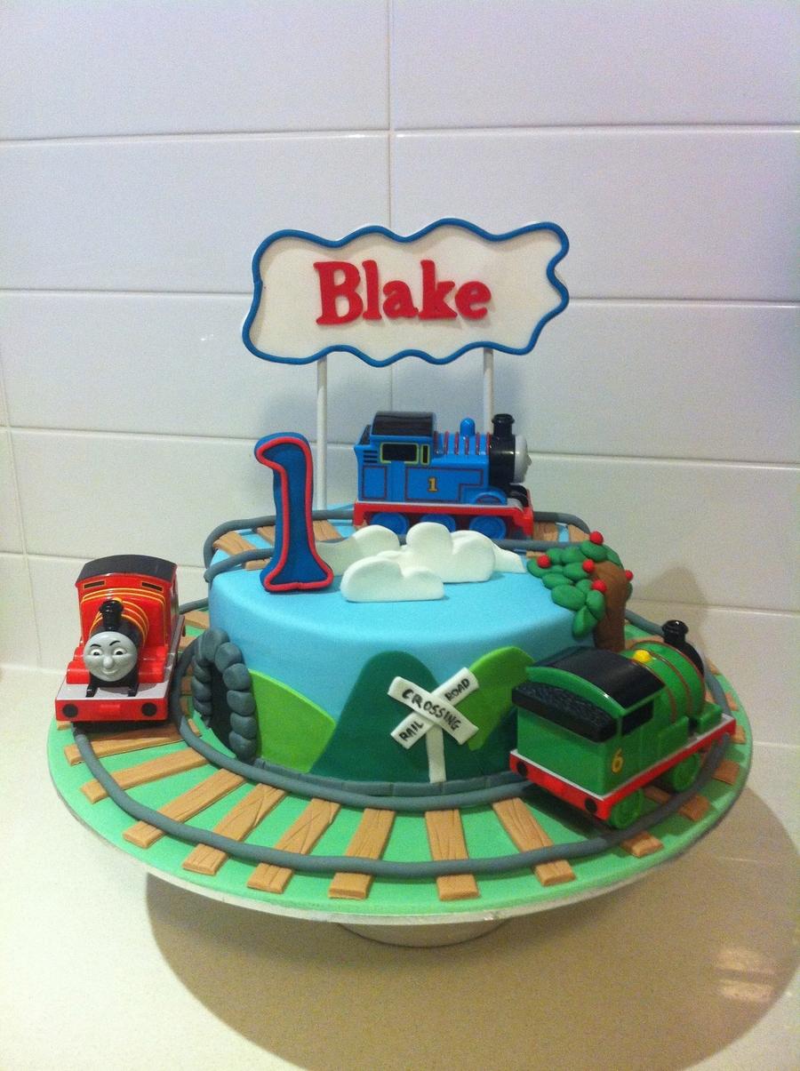 Thomas And Friends Cake Design