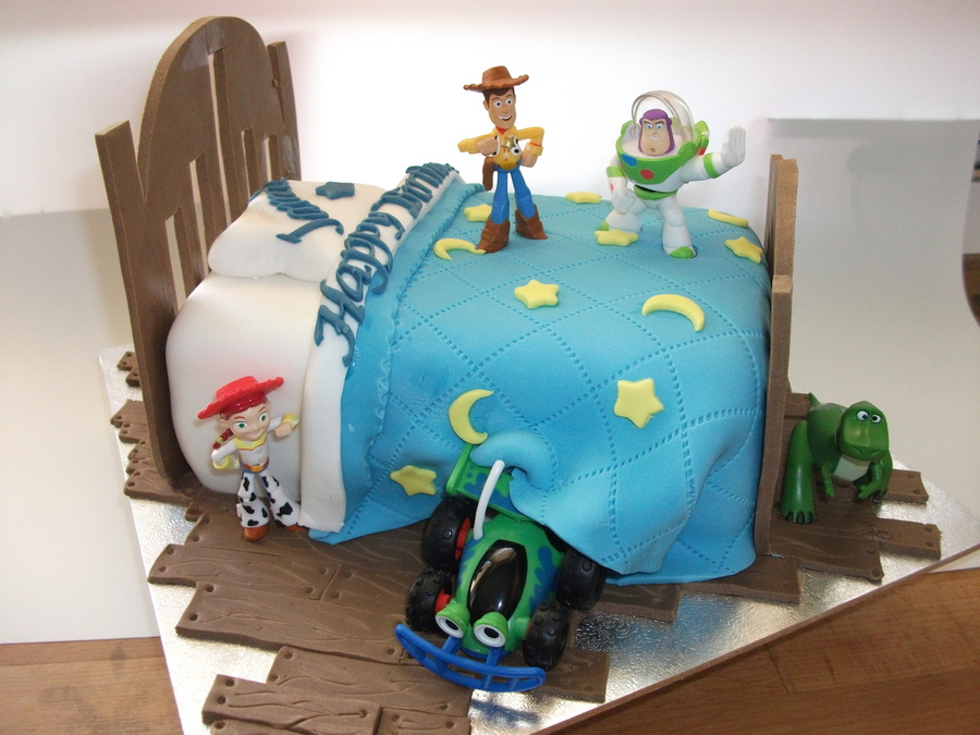 Toy Story Bed  on Cake Central