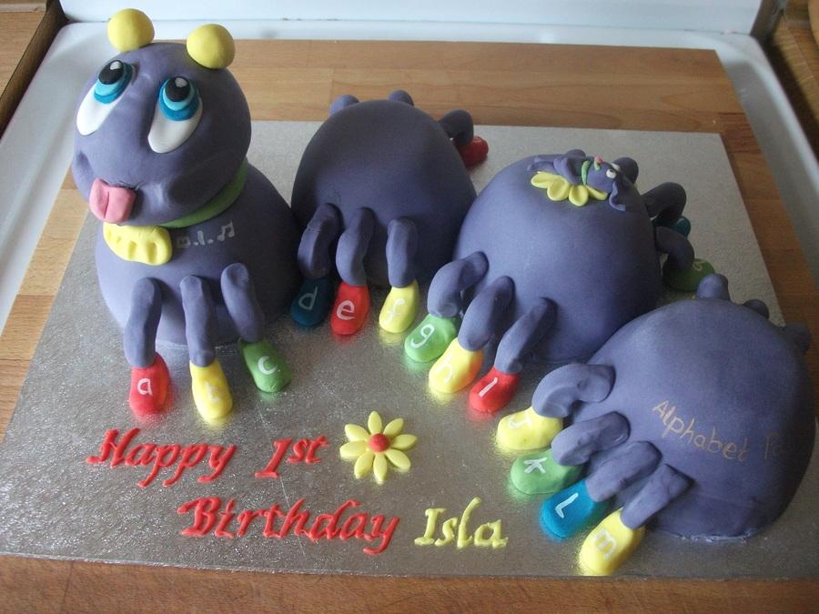 Leapfrog Caterpillar Cakecentral