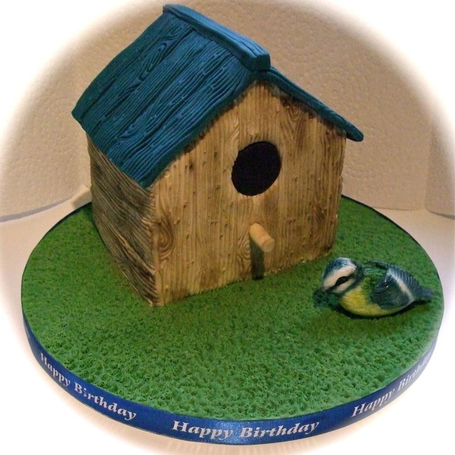 Bird House Cake on Cake Central