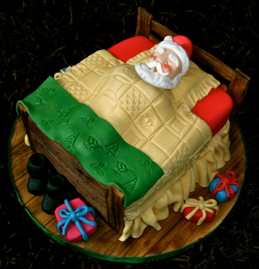 Father Christmas Cake on Cake Central