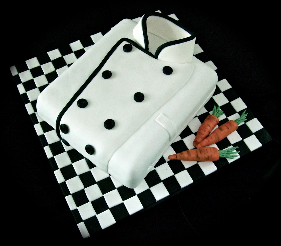 Chefs Jacket Cake on Cake Central