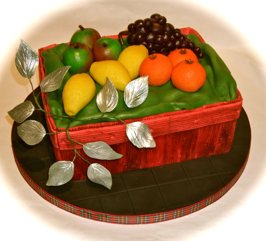 Christmas Fruit Cake on Cake Central