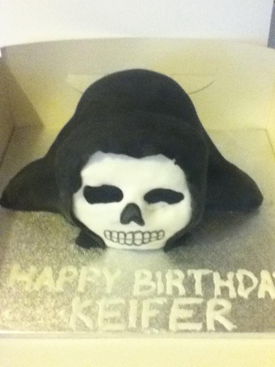 Grim Reaper on Cake Central