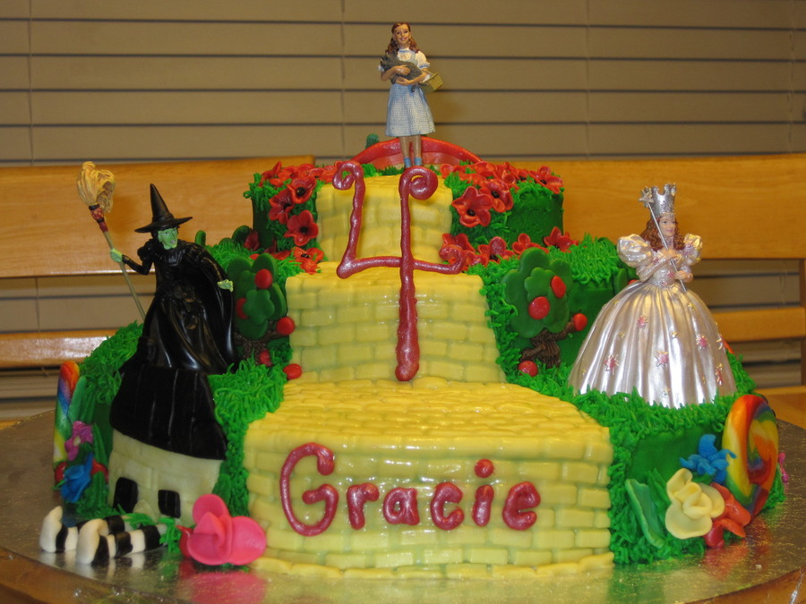 Phenomenal Wizard Of Oz Birthday Cakecentral Com Funny Birthday Cards Online Bapapcheapnameinfo