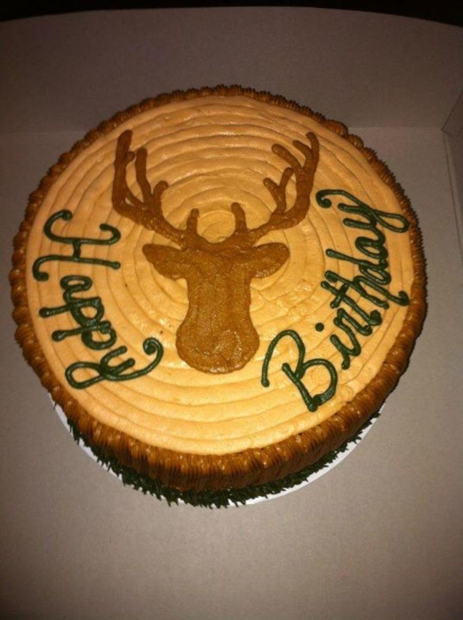 Deer Tree Stump Cakecentral Com