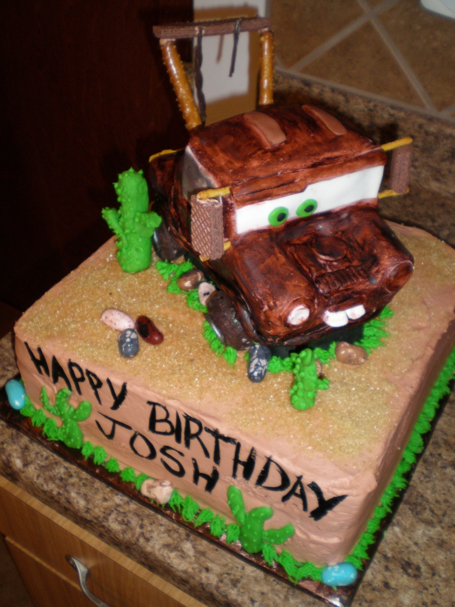 Tow Mater Cake Cakecentral