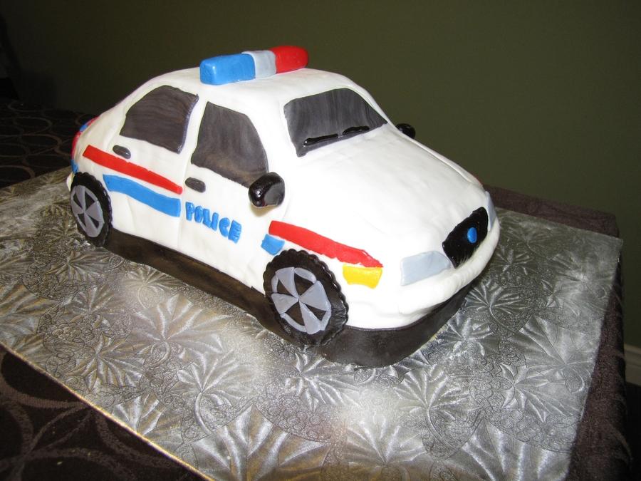 Police Car Birthday Cake Cakecentral