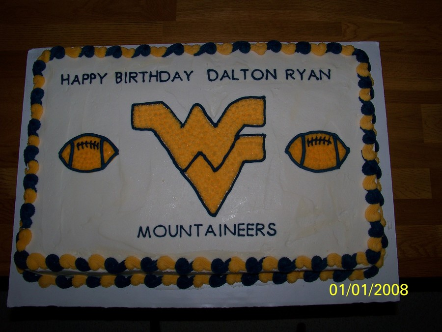 Wv Mountaineer Cake on Cake Central
