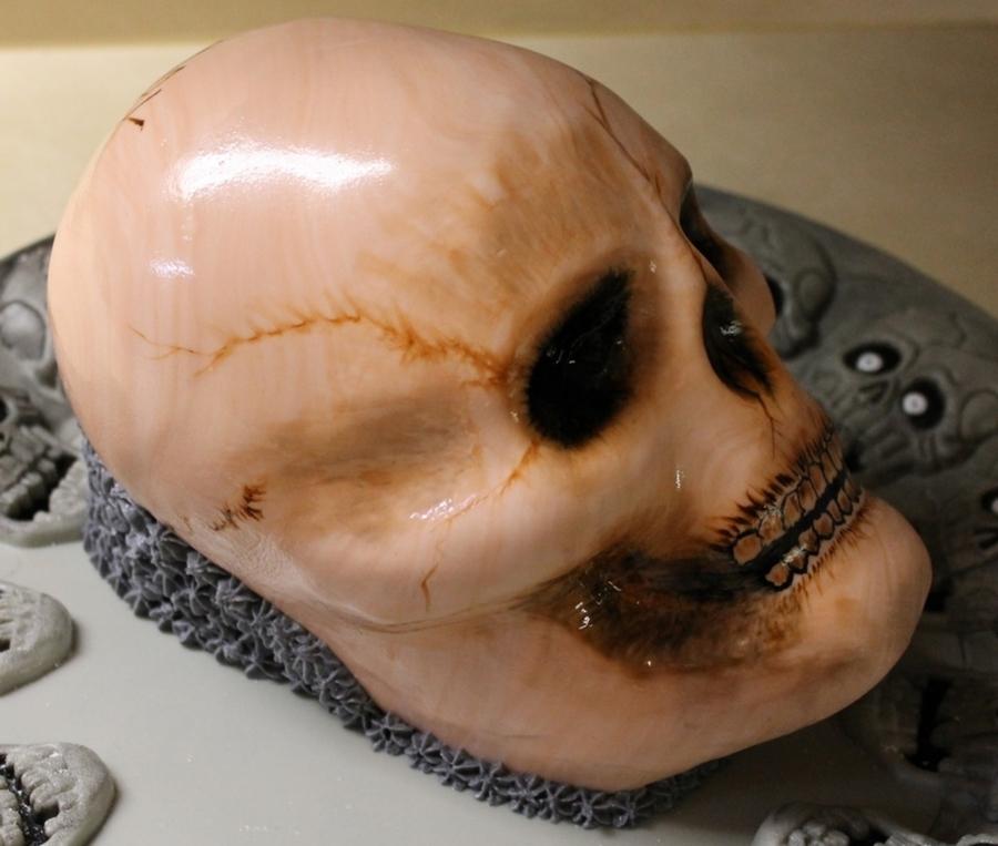 Skull Cakecentral Com