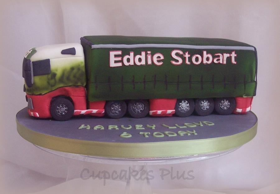 Eddie Stobart Cake Recipe