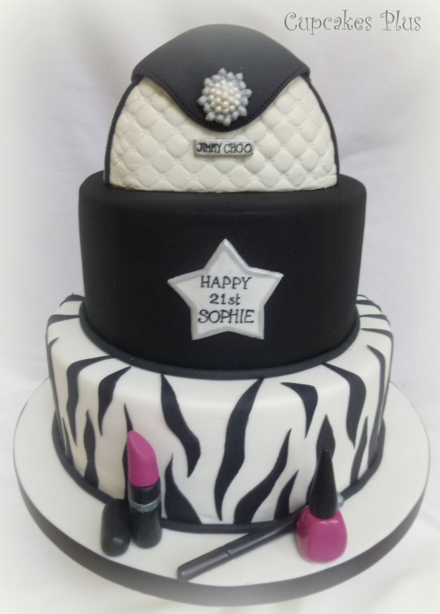 21St Birthday Cake Handbag Is Made From Rice Crispy Treats X on Cake Central