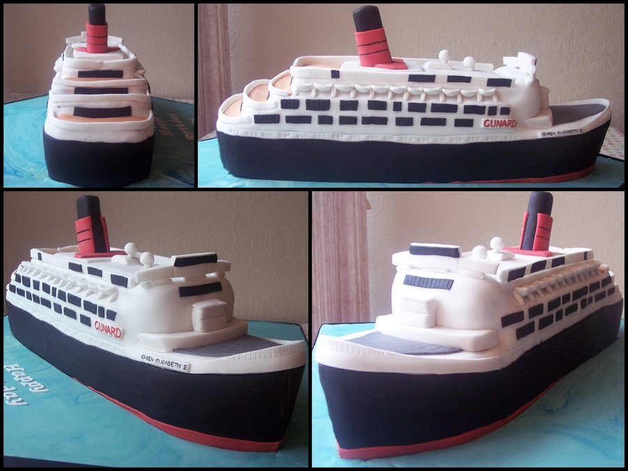 Qe2 Cake on Cake Central