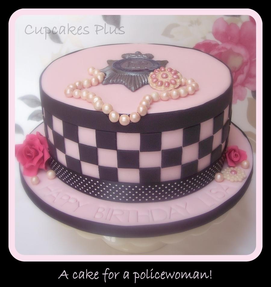 Policewoman Birthday Cake Cakecentral