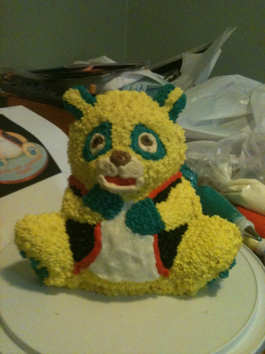 Special Agent Oso 3D Cake on Cake Central